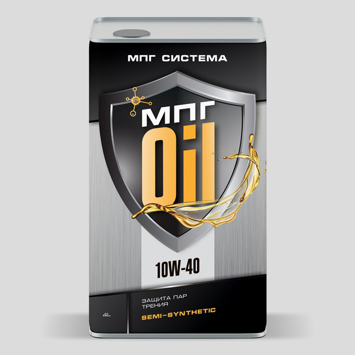 Моторное масло 10W-40, 4 литра