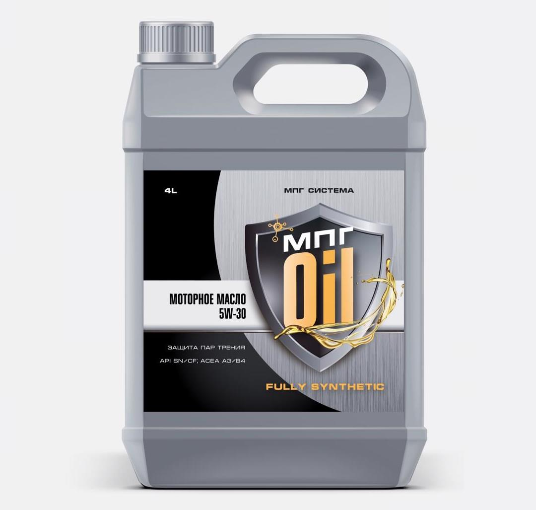 Моторное масло 5W-30 Synthetic (3группа), 4л