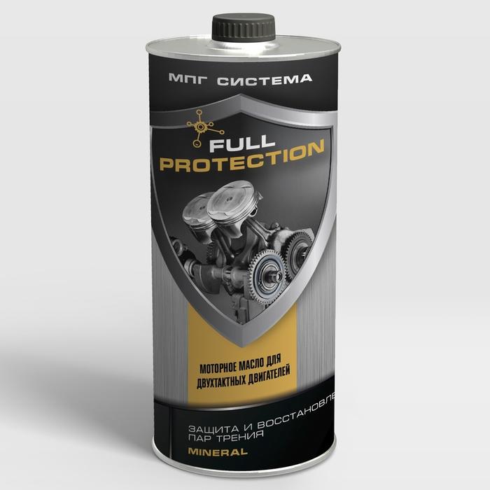 Масло для 2Т двигателей FULL PROTECTION, 1 литр