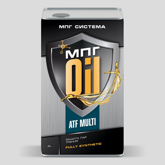 Масло для автоматических трансмиссий ATF MULTI, 4 литра