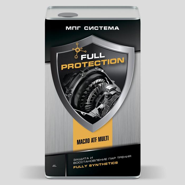 Трансмиссионное масло ATF MULTI FULL PROTECTION, 4 литра